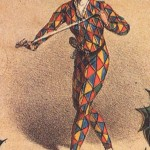 Colour characters - harlequin