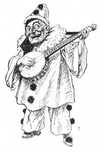 Pierrot Punch banjo