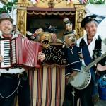 Poppets Puppets postcard