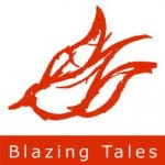 Blazing Tales logo