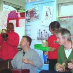 Bradford workshop with Old Boy Gacko & Uncle Tacko!