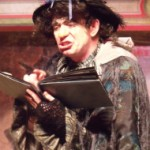 Tony as Mrs Kelly in Dan Leno - The King's Jester