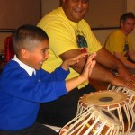 Uncle is the Moon (tabla workshop with Najam Javed)