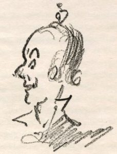 Dan Leno self-portrait