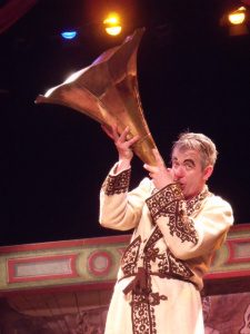 Tony as Dan Leno - Trumpet