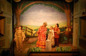 mother goose - beautiful backdrop