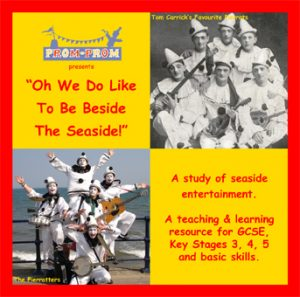Oh We do like to be beside the seaside CD cover