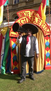 Mexican Megaphone at the Imaginarium, Skipton Puppet Festival 2013