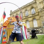 Pete White at Saltaire Festival