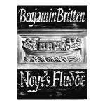 Score for Benjamin Britten's Noye's Fludde