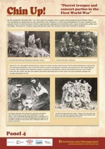 Chin-up-poster-pierrot-troupes-first-world-war