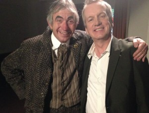 Tony as Dan Leno with Frank Skinner