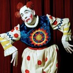 Tony as Grimaldi for BBC 4 Extra Clowning Around
