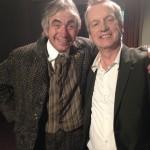 Tony with Frank Skinner