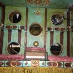 interior of theatre in making peepshhow box
