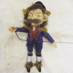 raree man tony puppet