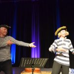Captain Spike performs in 'The Story of Jack Sprat' as part of The Teignmouth SeaCycle