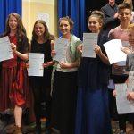 Dawlish Community College-getting-their-Artsmark-awards