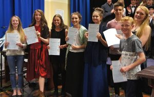 Dawlish Community College-getting-their-Artsmark-awards