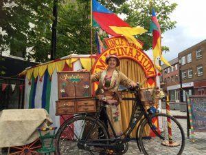 Isabella, her Storybike & The Imaginarium