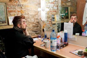 Sinbad - Gacko in dressing room