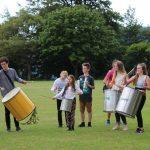 Teignmouth Community School Samba band