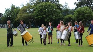 Teignmouth Community School Samba band