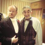 Tony with Ian Harvey Jones as Neville Maskelyne