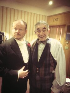 Tony with Ian Harvey Jones as Neville Maskelyne