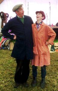 Uncle Tacko! & Sergeant Spike - slapstick workshop for Just So Festival
