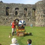 Uncle Tacko's flea circus in Beaumaris Castle