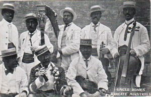 Uncle Bones' Margate Minstrels, posted 1904