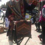 The barrel organ in Beverley 2016