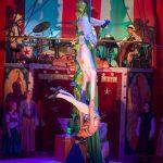 Jack & The Beanstalk - The beanstalk as aerial silks 1