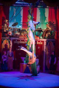 Jack & The Beanstalk - The beanstalk as aerial silks 1
