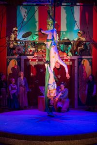 Jack & The Beanstalk - The beanstalk as aerial silks 2
