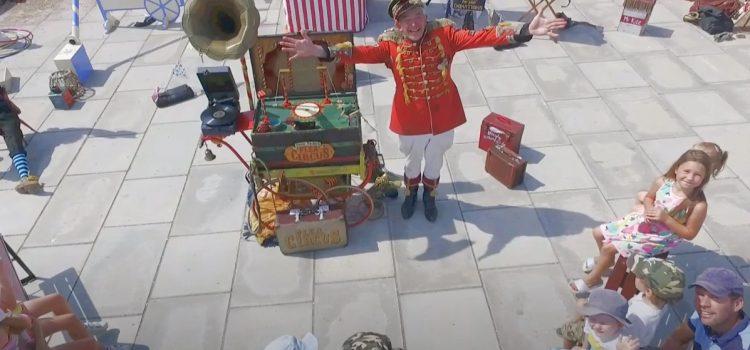 Uncle Tackos Flea Circus Teignmouth Aug 2020
